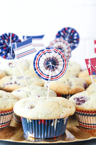 Forth of July Muffins
